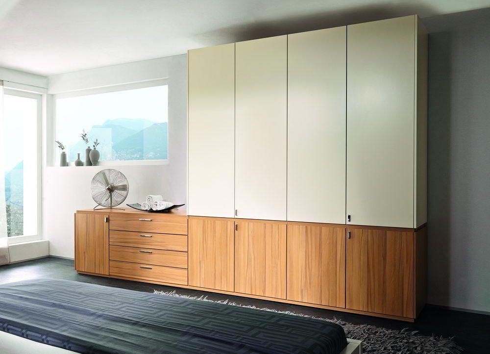 schlafzimmer skyline von nolte delbr ck in kernbuche lack. Black Bedroom Furniture Sets. Home Design Ideas