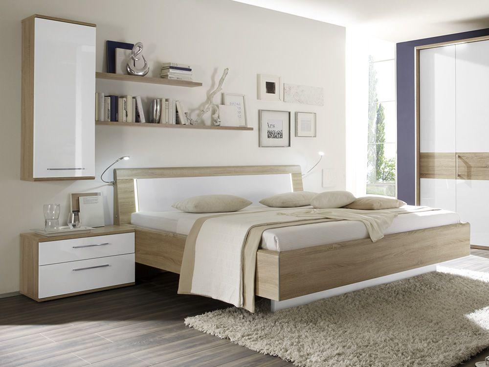 Schlafzimmer Eiche | Loddenkemper Luna Eiche Macao Mobel Letz Ihr Online Shop