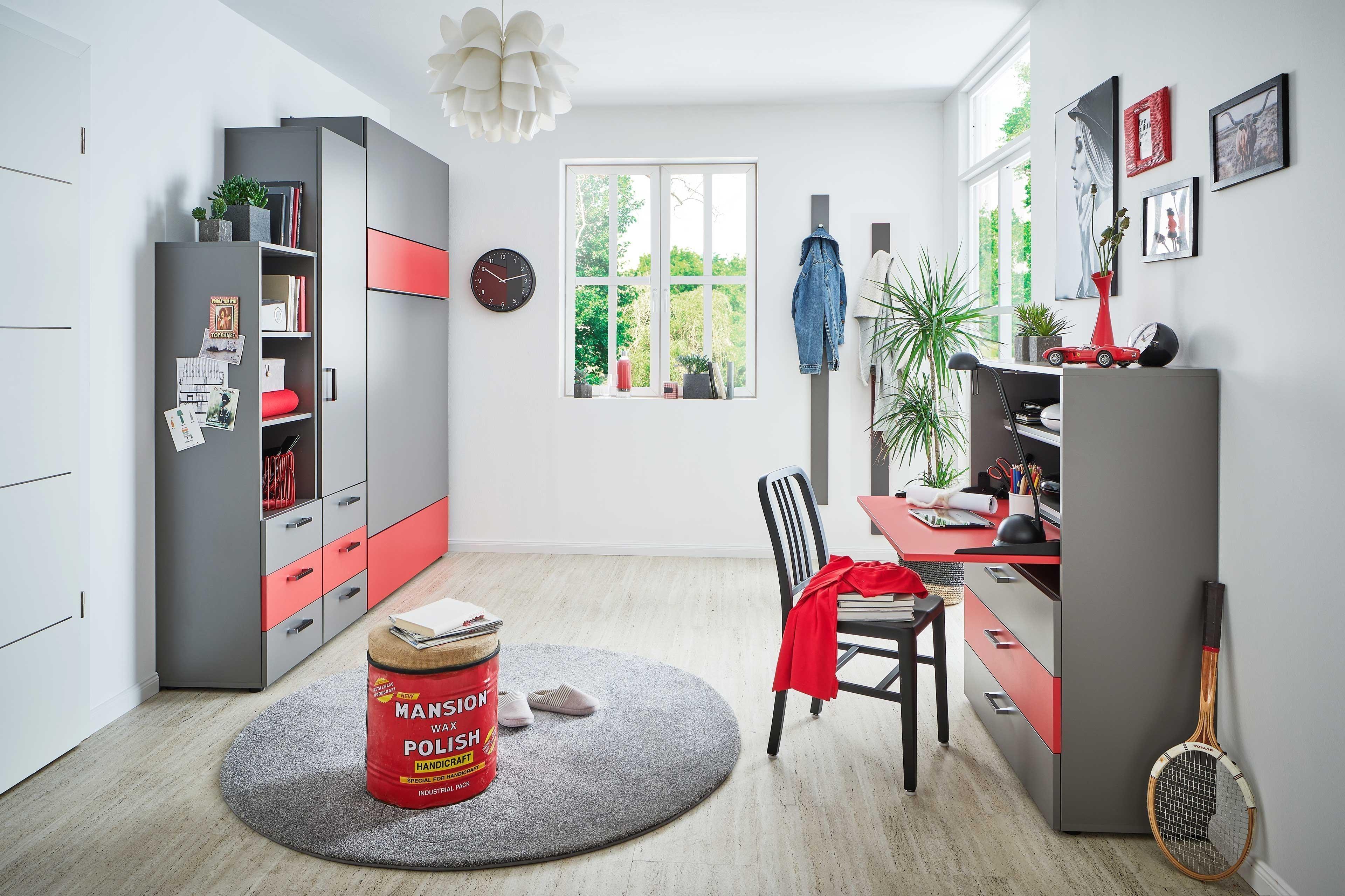 Rudolf Loop Jugendzimmer Mit Klappbett Mobel Letz Ihr Online Shop