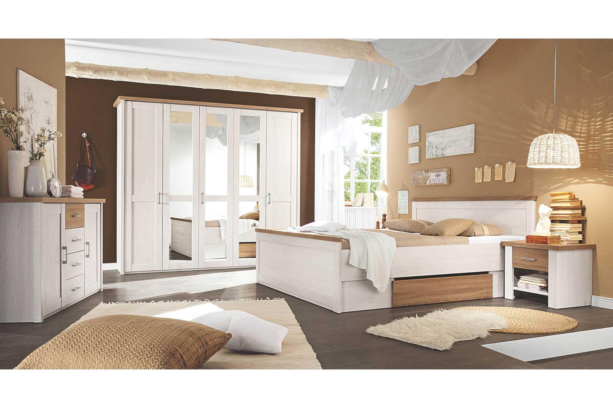 Luca von POL Power - Schlafzimmer-Set im Landhaus-Stil