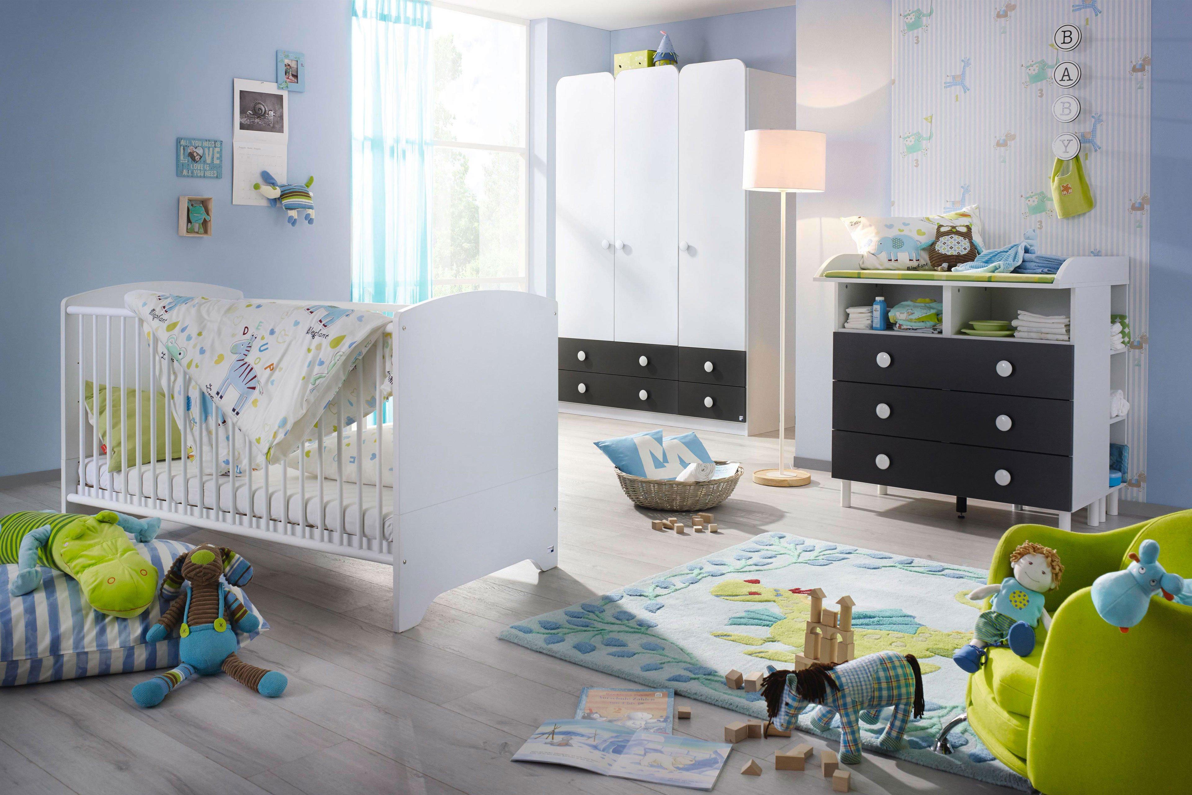 Rauch Filipo Babymobel Alpinweiss Grau Mobel Letz Ihr Online Shop