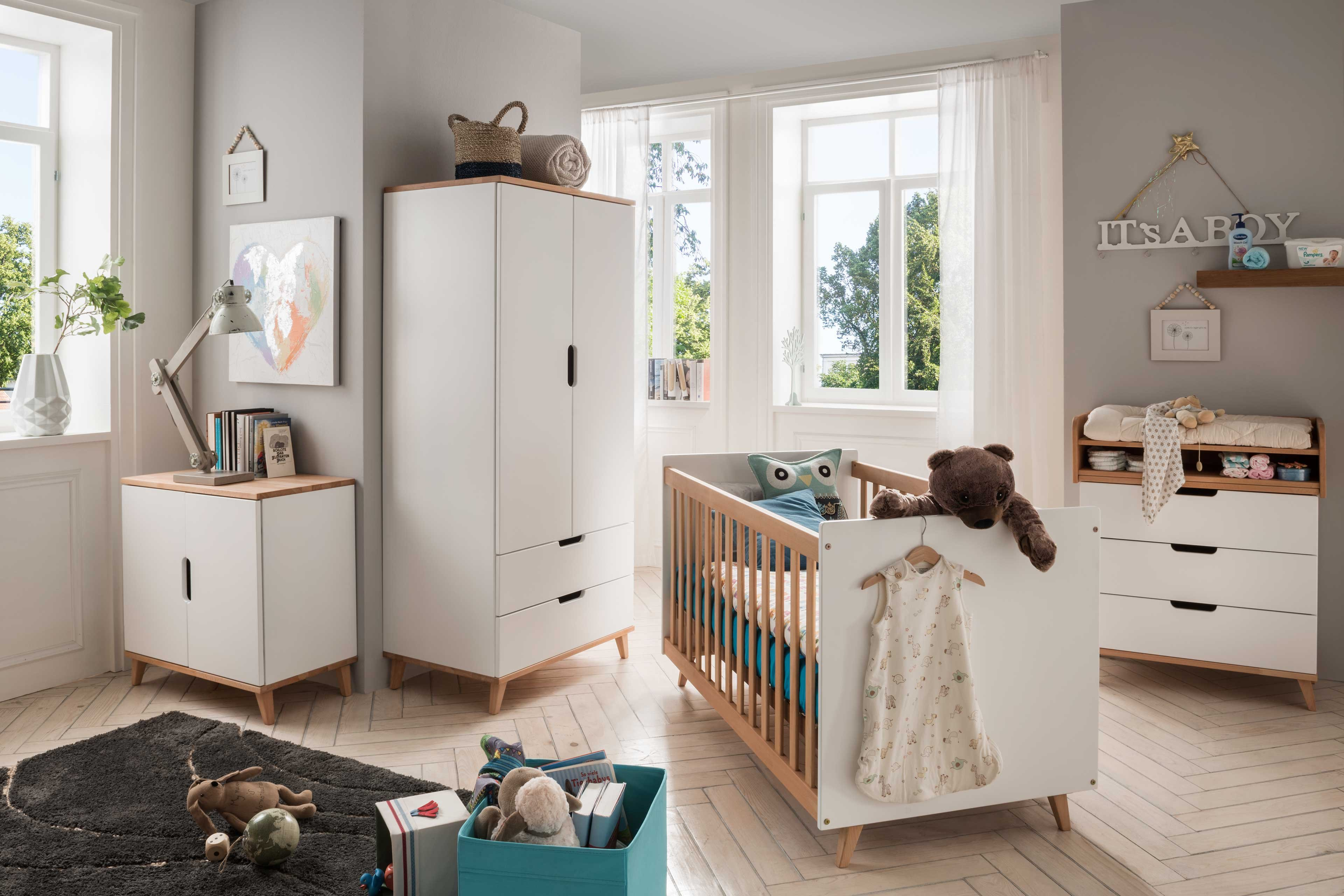 Infanskids Infanscolor Babyzimmer weiß   Buche   Möbel Letz   Ihr ...