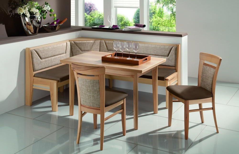 stockholm 730 von elro sitzm bel eckbankgruppe kernbuche dielenm bel und flurm bel online kaufen. Black Bedroom Furniture Sets. Home Design Ideas
