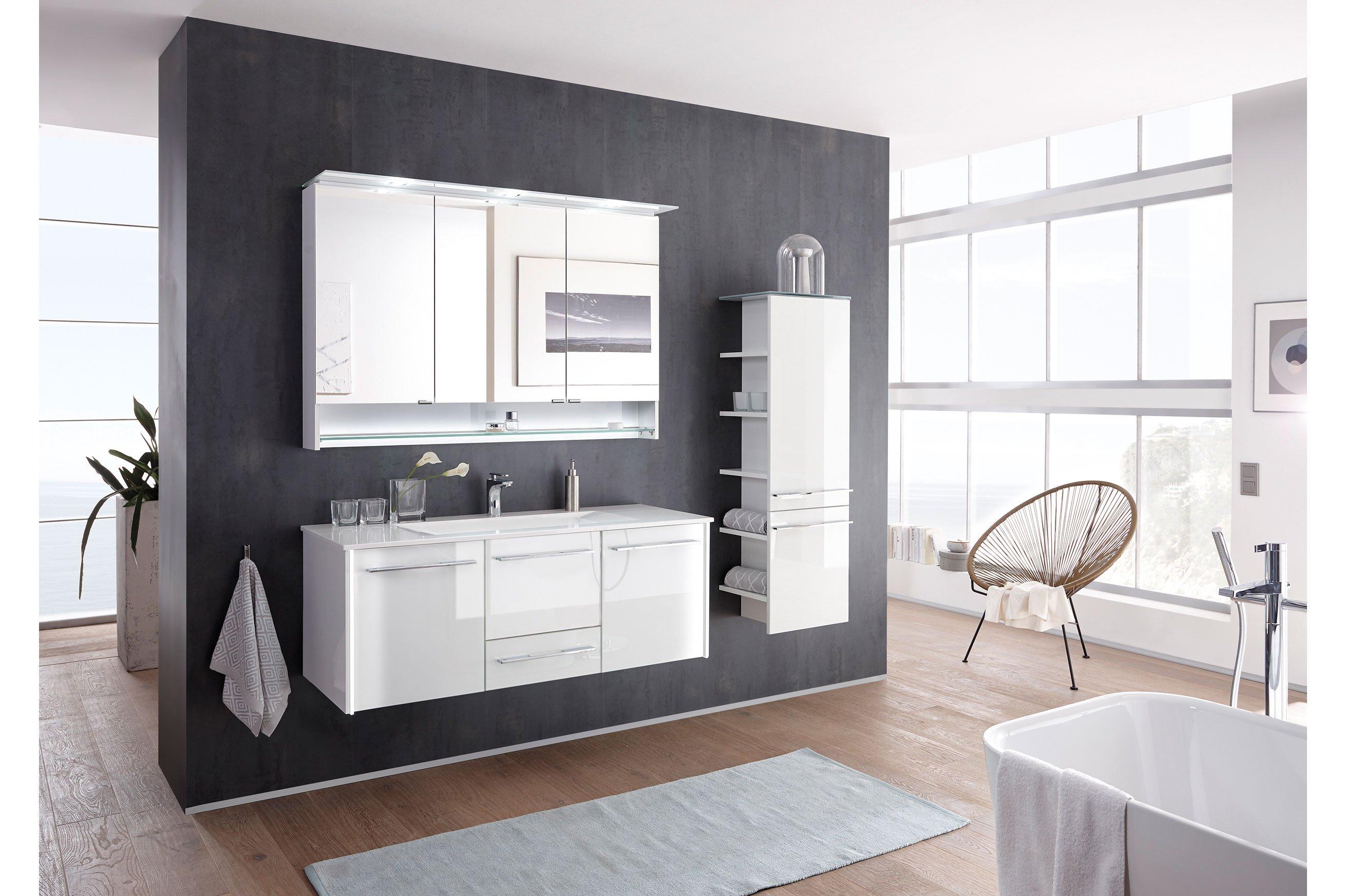 Leonardo Living Badezimmer Bad 116 Glas Optiwhite Mobel Letz Ihr Online Shop