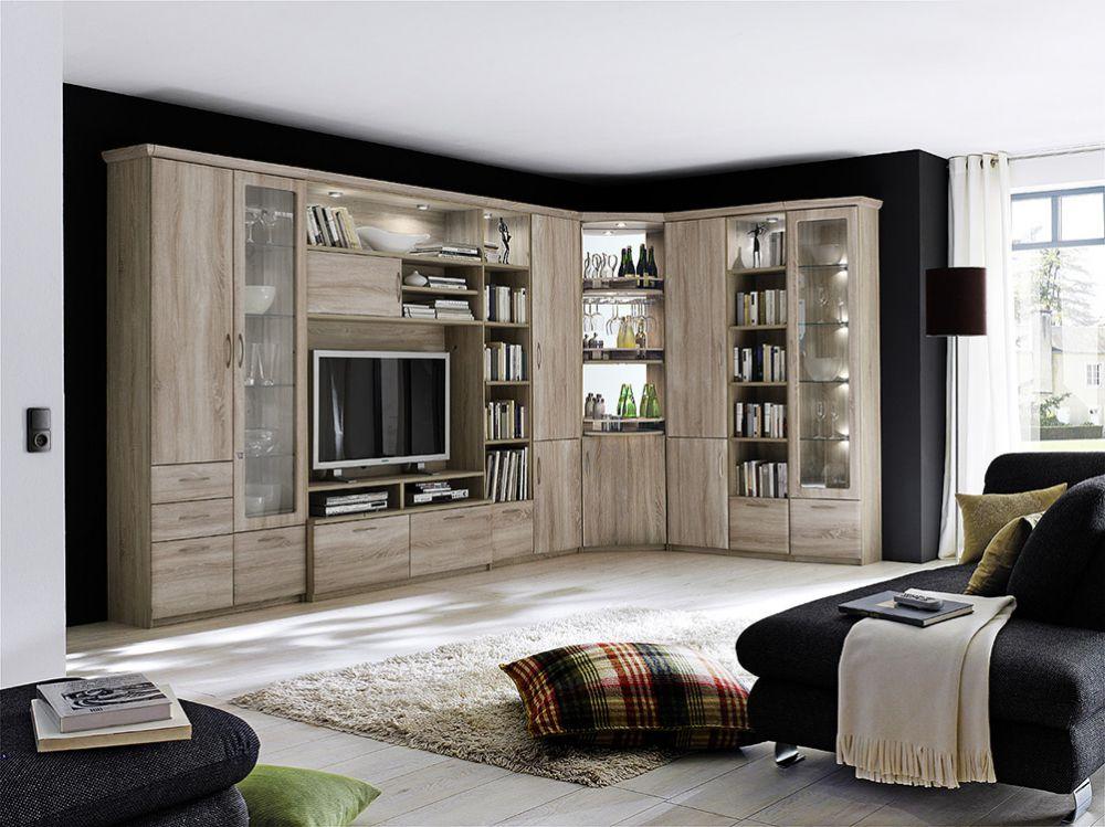 wohnwand cornwall v von mca m bel letz ihr online shop. Black Bedroom Furniture Sets. Home Design Ideas