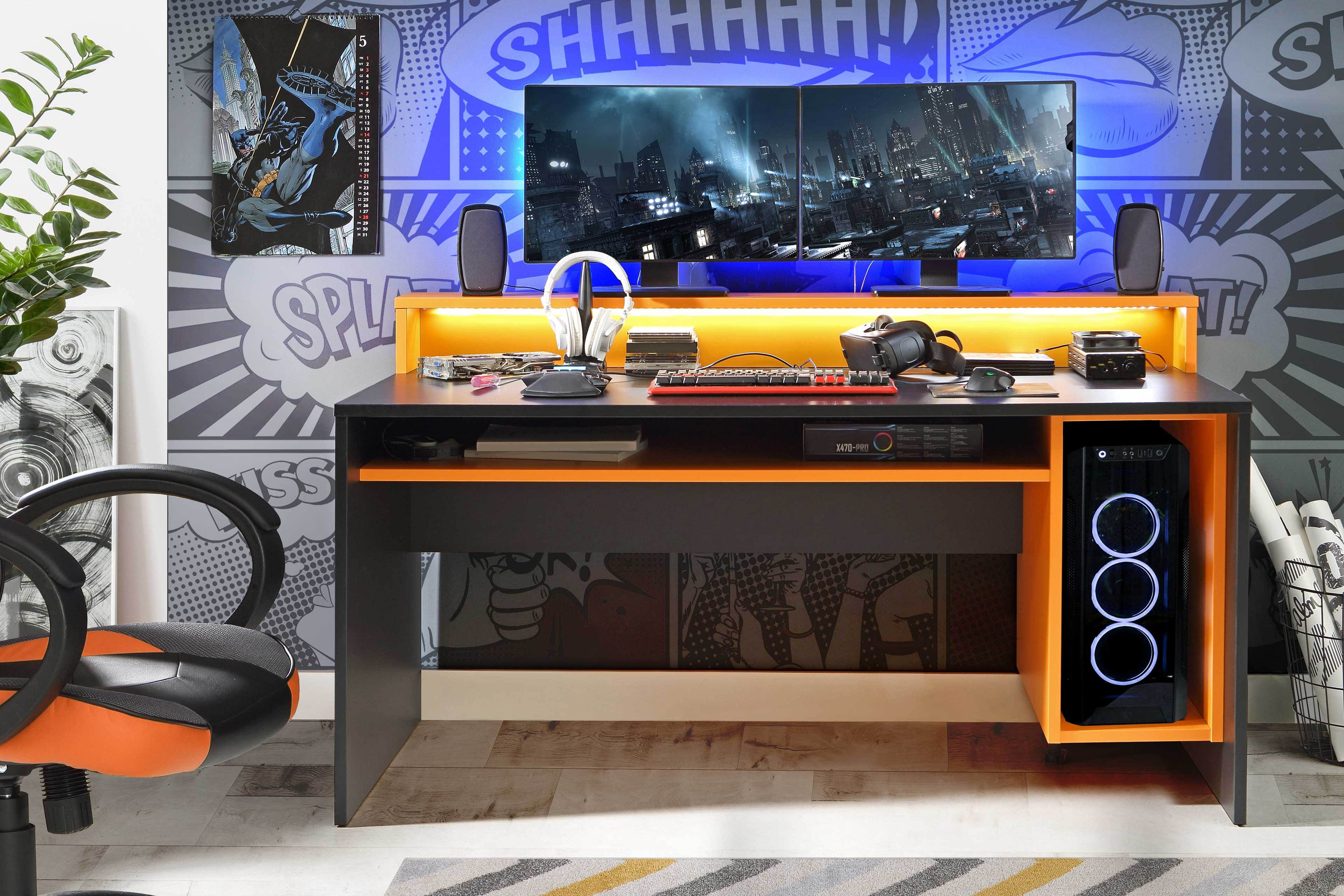 Gaming Schreibtisch Konfigurator 2021