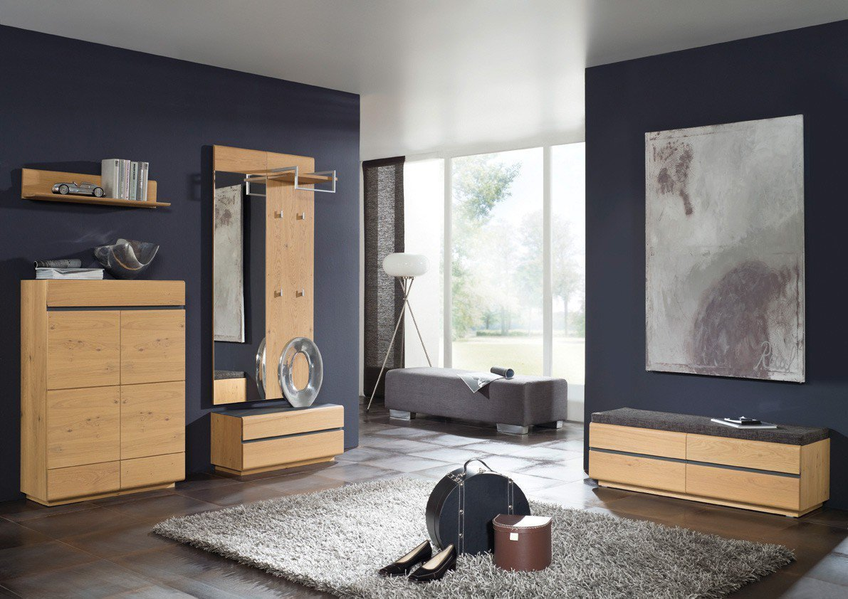 bienenm hle garderobe cosima massiv m bel letz ihr online shop. Black Bedroom Furniture Sets. Home Design Ideas