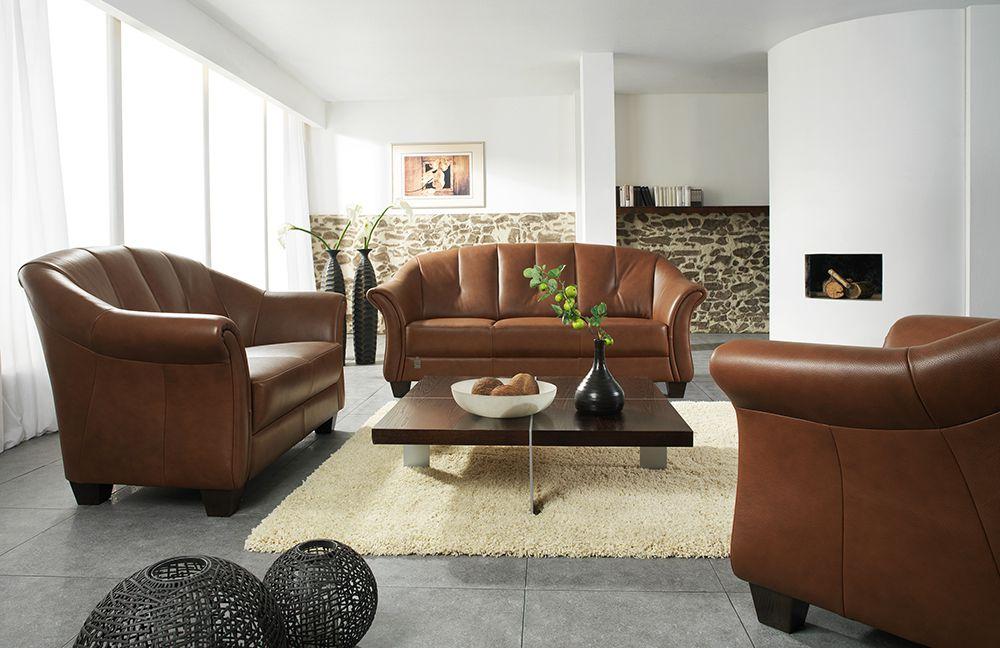 Ponsel Sigma Sofagruppe braun | Möbel Letz - Ihr Online-Shop