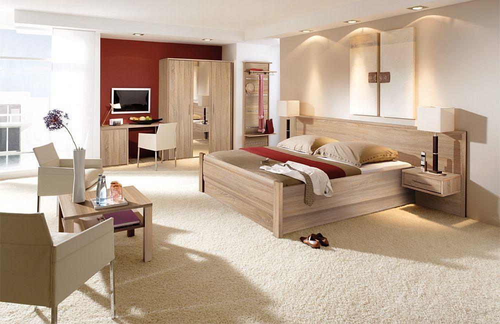 priess schlafzimmer objekträume walnuss | möbel letz - ihr online-shop