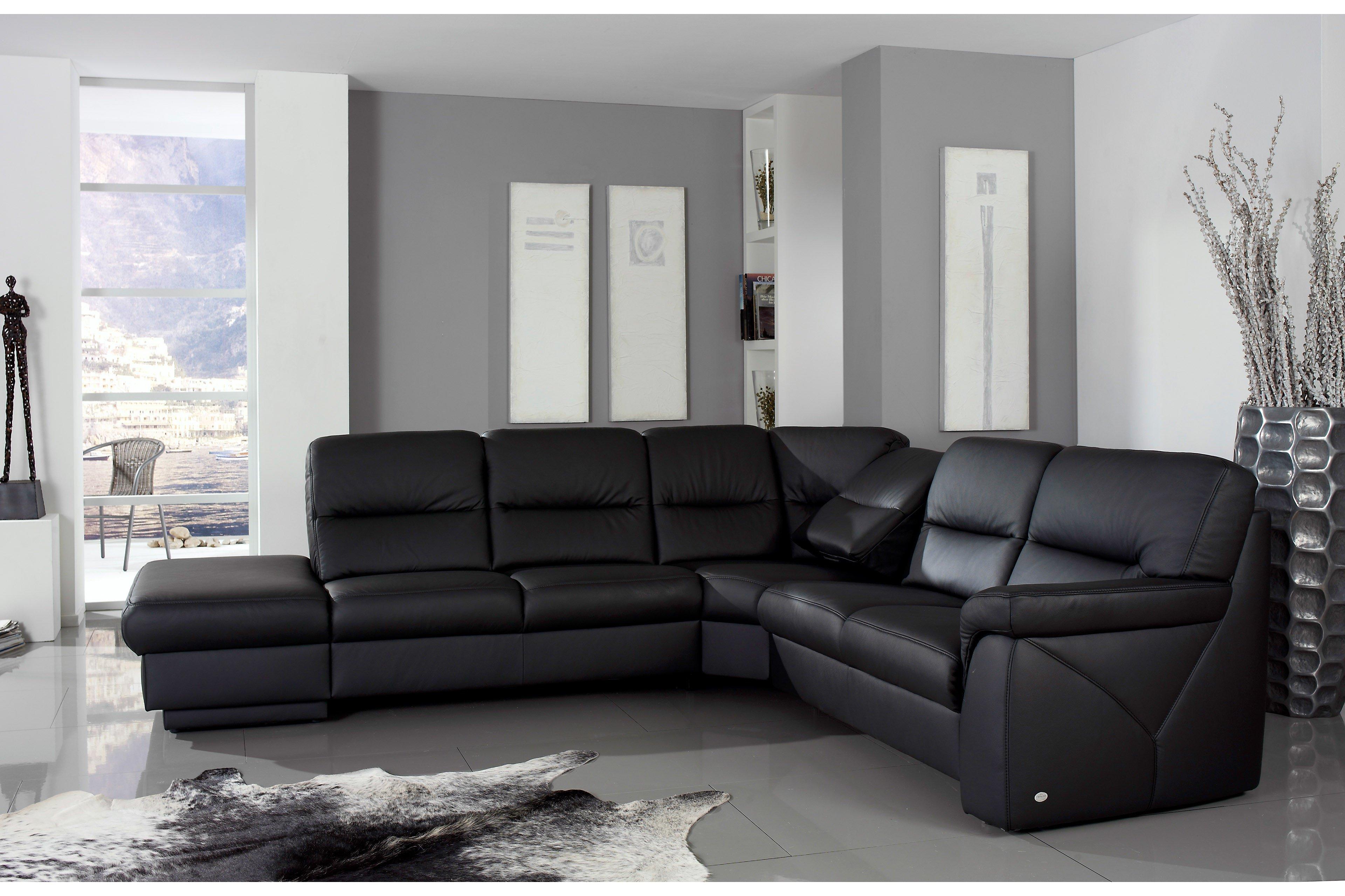 himolla polsterm bel 1101 hobey ledergarnitur m bel letz ihr online shop. Black Bedroom Furniture Sets. Home Design Ideas