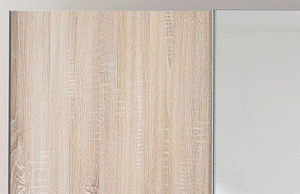 Samia Von Nolte Möbel   Kleiderschrank Sonoma Eiche Mit Spiegel