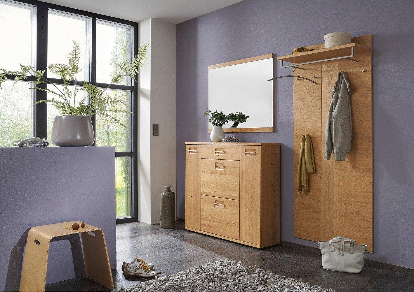 montana von voss garderobe set 4 teilmassiv dielenm bel. Black Bedroom Furniture Sets. Home Design Ideas
