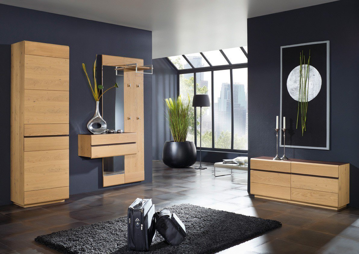 bienenm hle garderobe cosima massives holz m bel letz ihr online shop. Black Bedroom Furniture Sets. Home Design Ideas