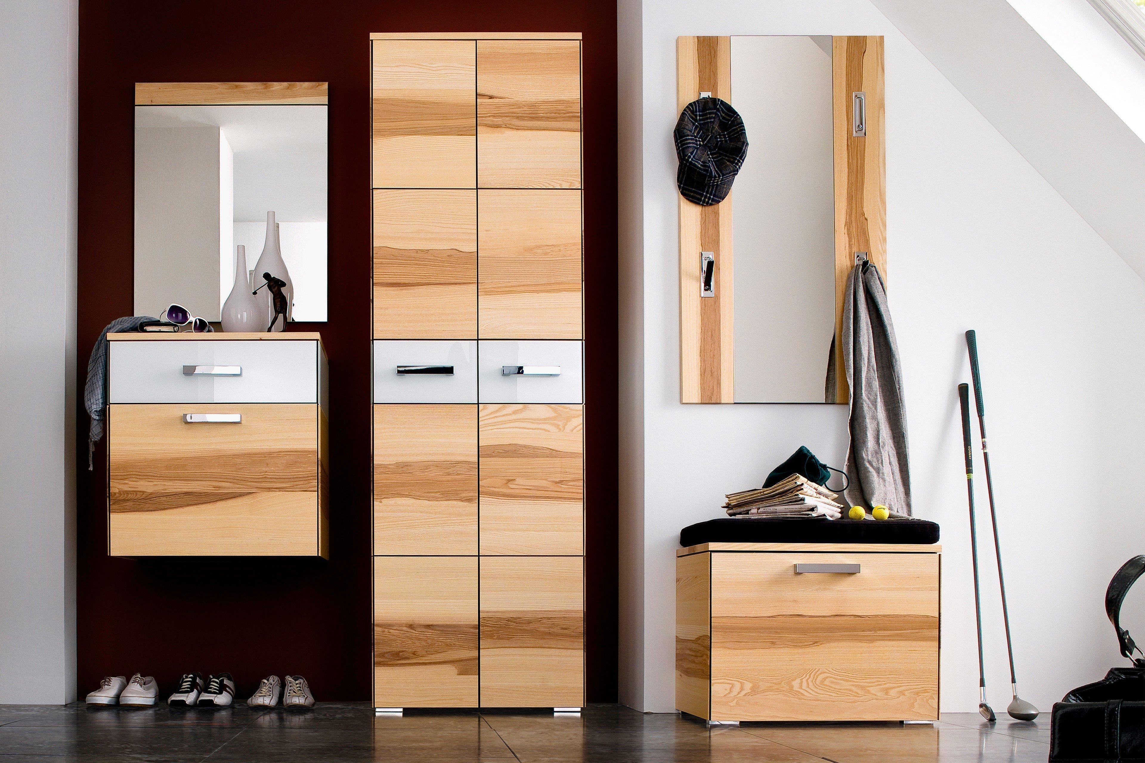 wittenbreder garderobe massello kernesche wei m bel letz ihr online shop. Black Bedroom Furniture Sets. Home Design Ideas