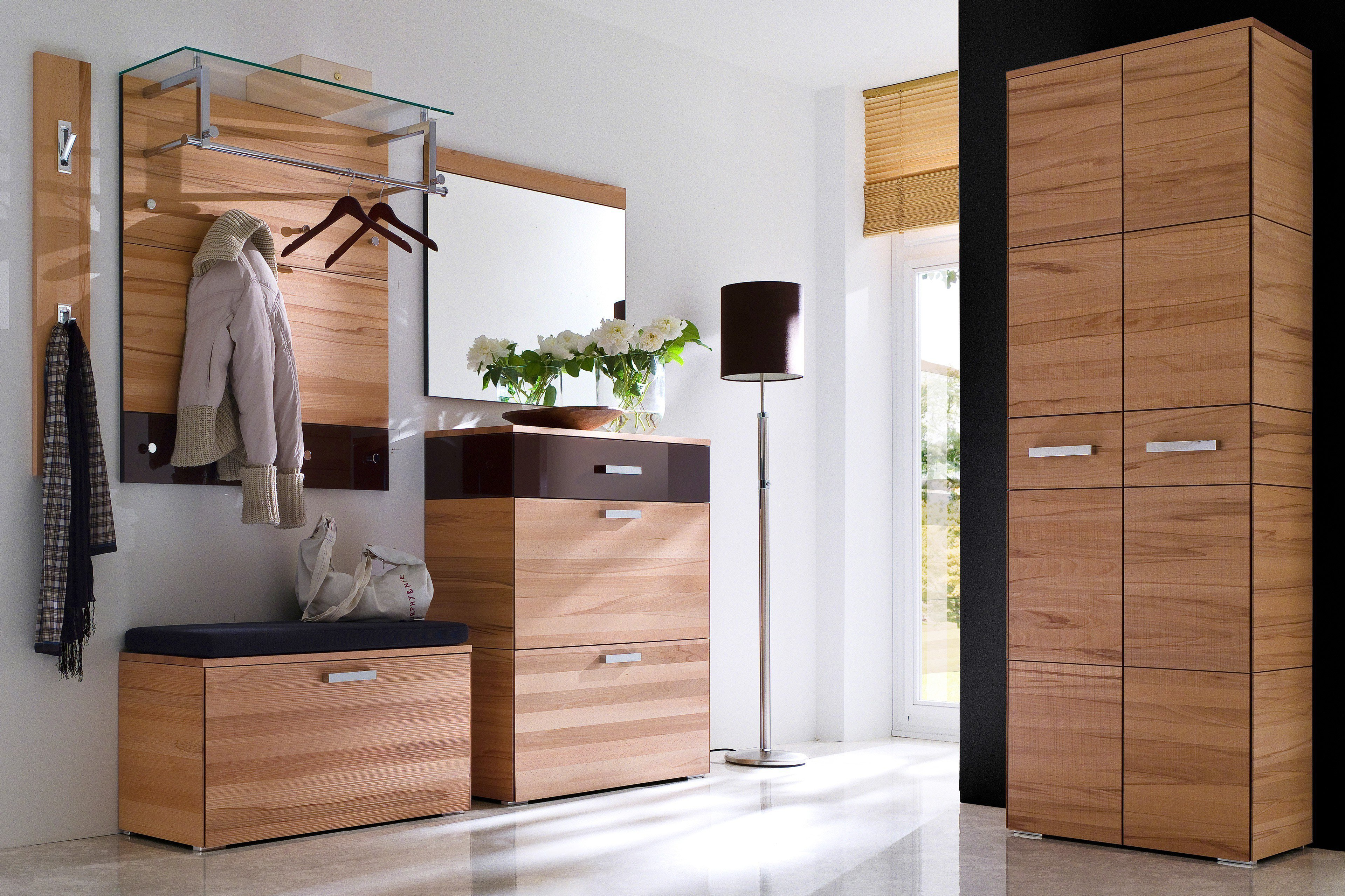 wittenbreder garderobe massello kernbuche braun m bel letz ihr online shop. Black Bedroom Furniture Sets. Home Design Ideas