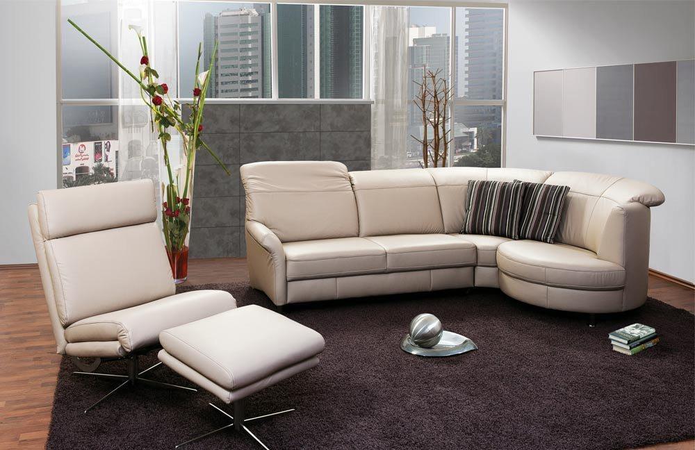 pm oelsa bernd ledergarnitur beige m bel letz ihr online shop. Black Bedroom Furniture Sets. Home Design Ideas