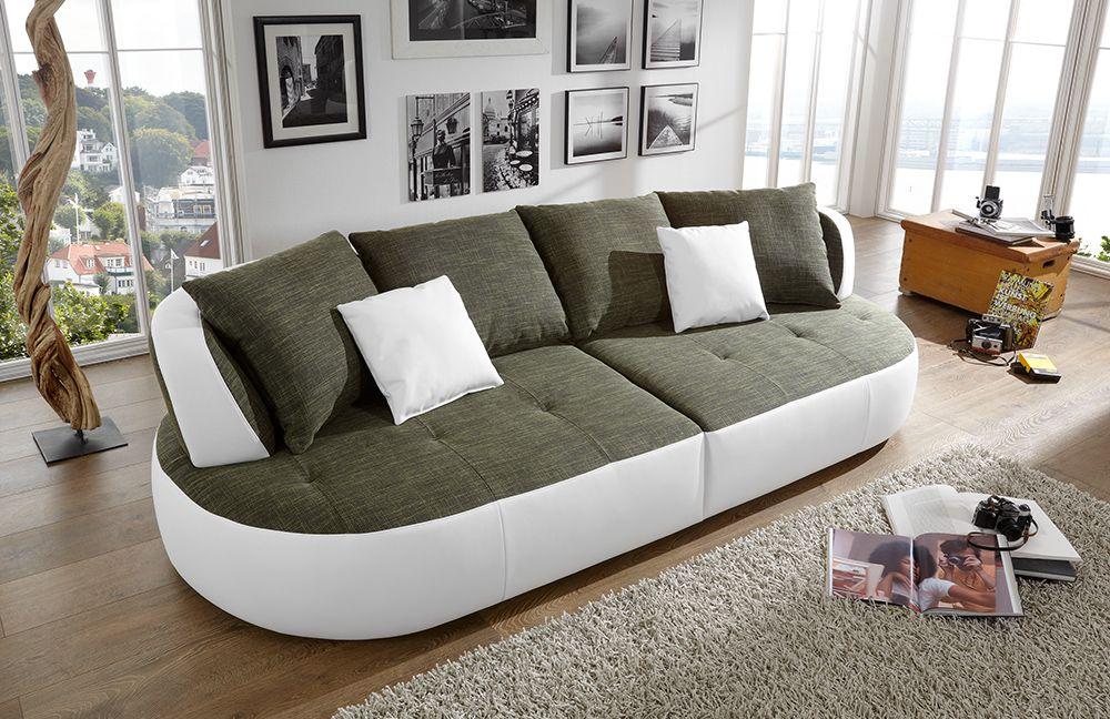 new look m bel bali ultrasofa gr n wei m bel letz ihr online shop. Black Bedroom Furniture Sets. Home Design Ideas