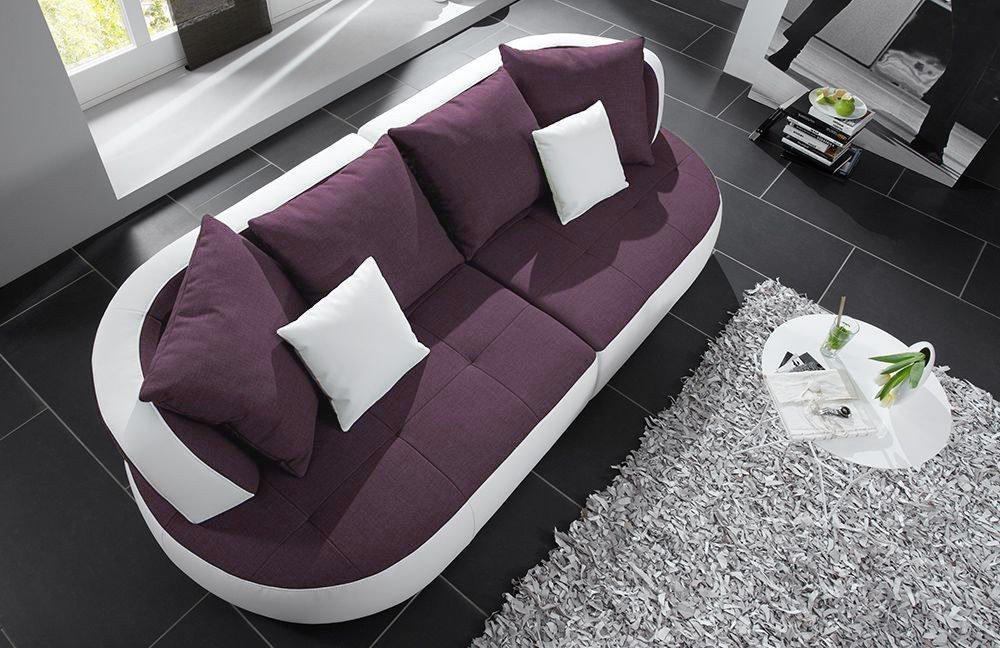 new look m bel bali sofa lila wei m bel letz ihr online shop. Black Bedroom Furniture Sets. Home Design Ideas