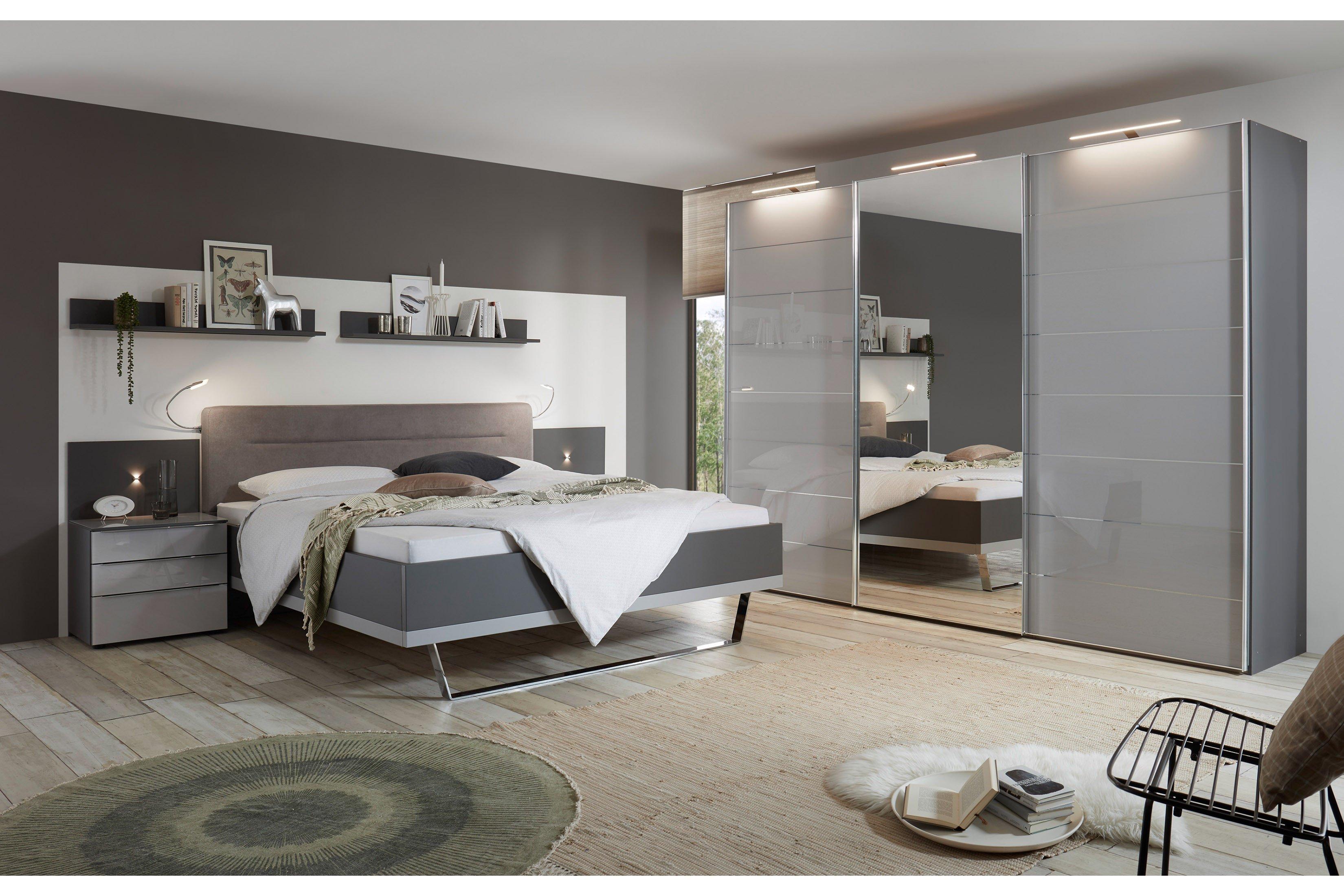 Staud Sonate Schlafzimmermobel Set Grau 4 Teilig Mobel Letz Ihr Online Shop