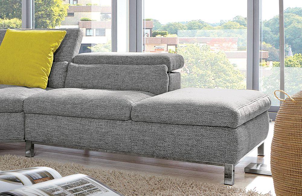 viareggio von poco polstergarnitur grau polsterm bel. Black Bedroom Furniture Sets. Home Design Ideas