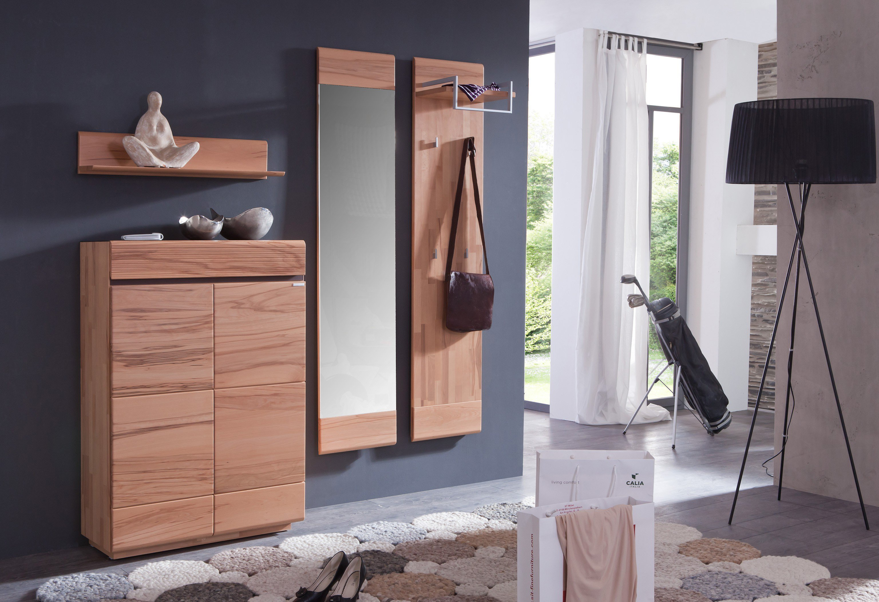 garderobe cosima kernbuche bienenm hle m bel letz. Black Bedroom Furniture Sets. Home Design Ideas