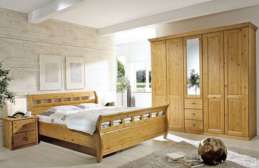 Schlafzimmer Möbel Schlafzimmer Komplett: Schlafzimmer Komplett ... Schlafzimmer Landhausstil Kiefer