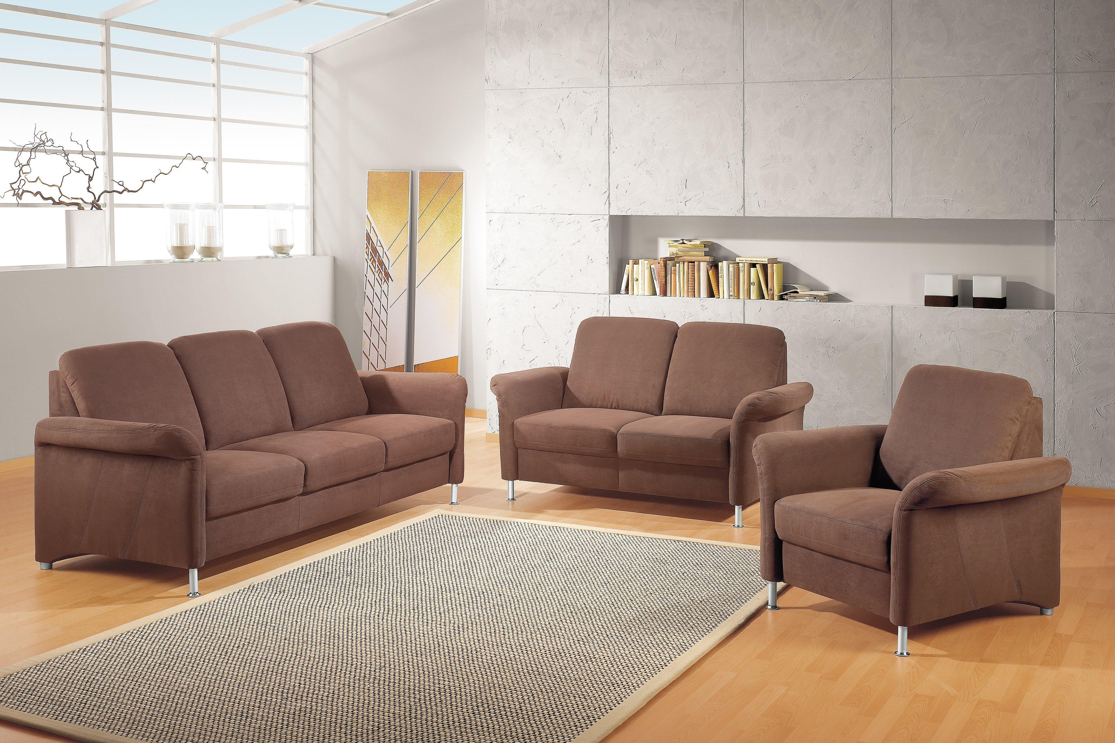 zehdenick jaguar 3 2 1 garnitur braun m bel letz ihr online shop. Black Bedroom Furniture Sets. Home Design Ideas