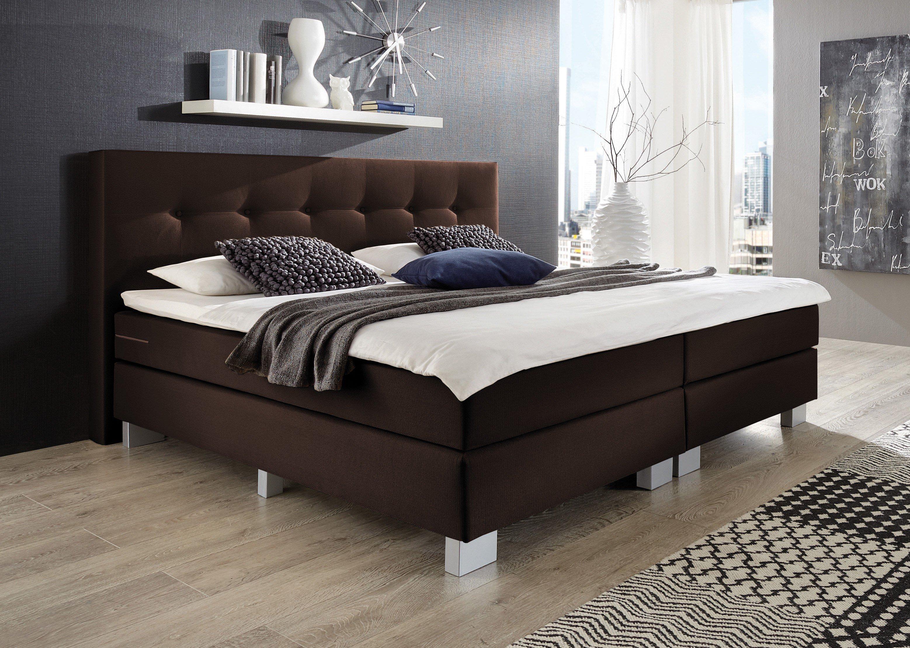 max berger boxspringbett. Black Bedroom Furniture Sets. Home Design Ideas