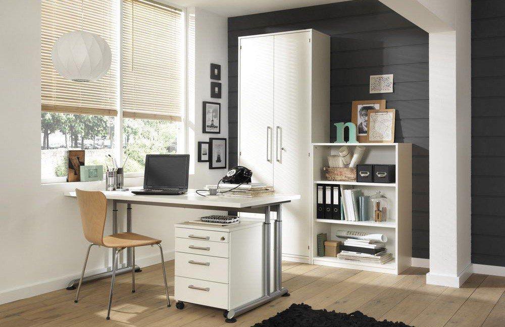 Büromöbel weiß  Wellemöbel Hyper Büromöbel weiß | Möbel Letz - Ihr Online-Shop