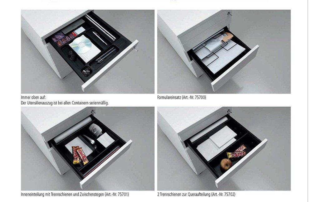 Wellemöbel Hyper Büromöbel weiß komplett | Möbel Letz - Ihr Online-Shop