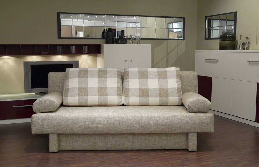 nehl wohnideen schlafsofa kerstin in beige m bel letz. Black Bedroom Furniture Sets. Home Design Ideas