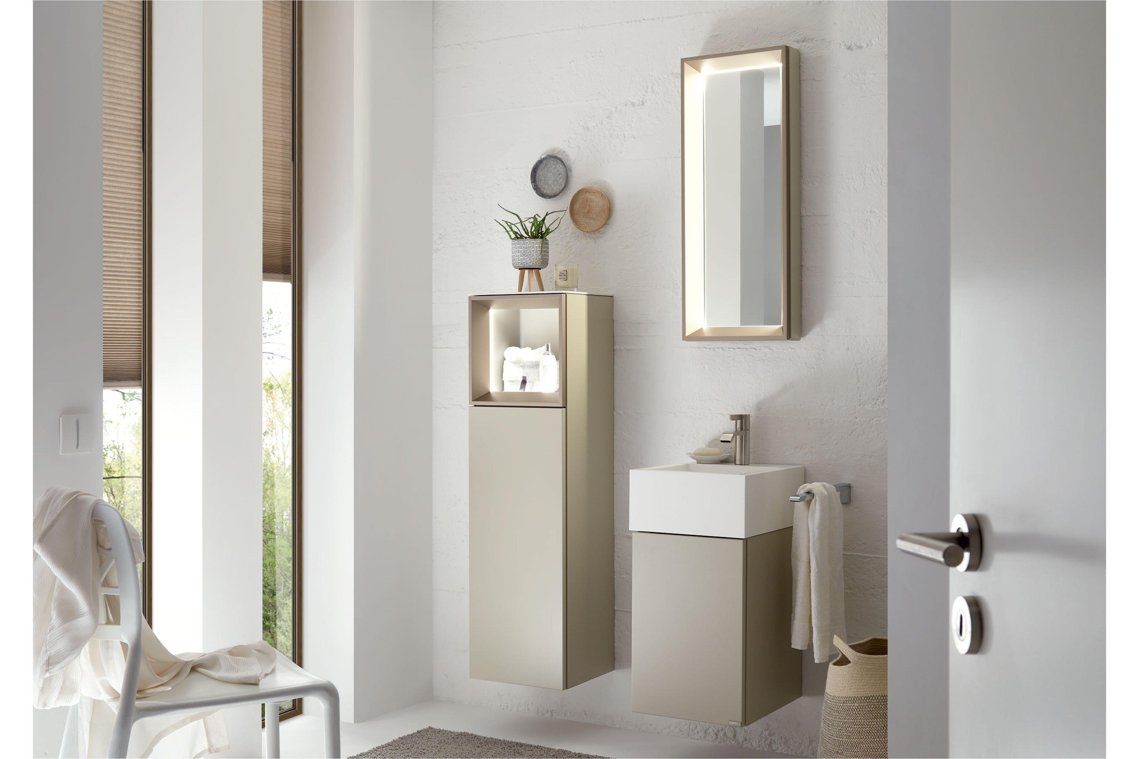 Tetrim Badezimmer Set Von Hulsta In Lack Seidengrau Mobel Letz Ihr Online Shop
