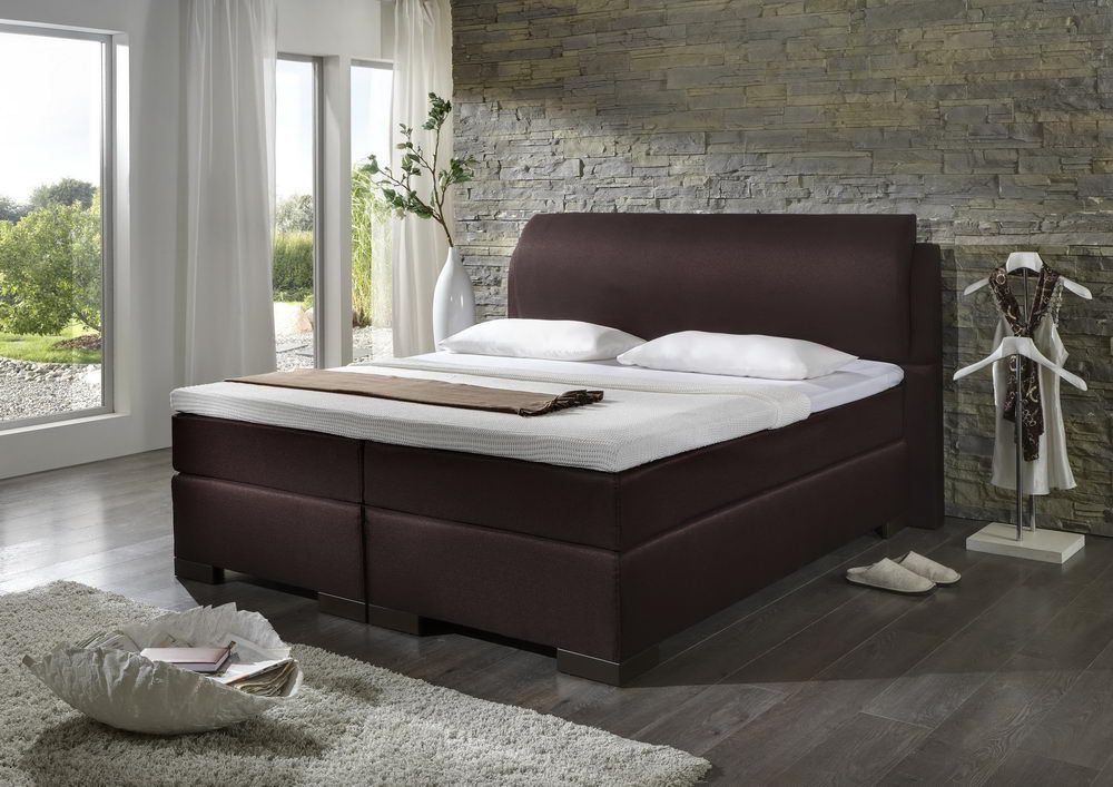 boxspringbett von dico m bel in braun bs9020 m bel letz ihr online shop. Black Bedroom Furniture Sets. Home Design Ideas