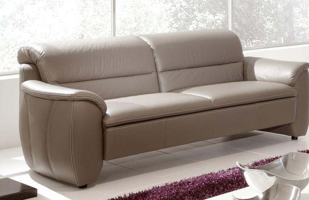jonny von k w polsterm bel ledergarnitur hellbraun g nstig online kaufen sofa couch. Black Bedroom Furniture Sets. Home Design Ideas