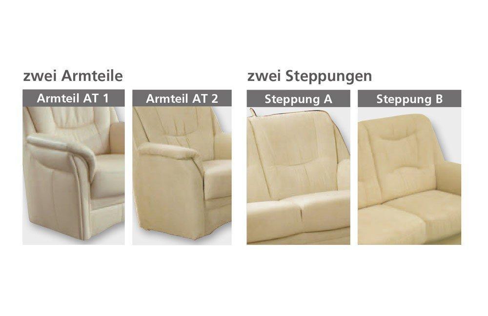 Dietsch System 2 Polstergarnitur cappuccino | Möbel Letz - Ihr ...