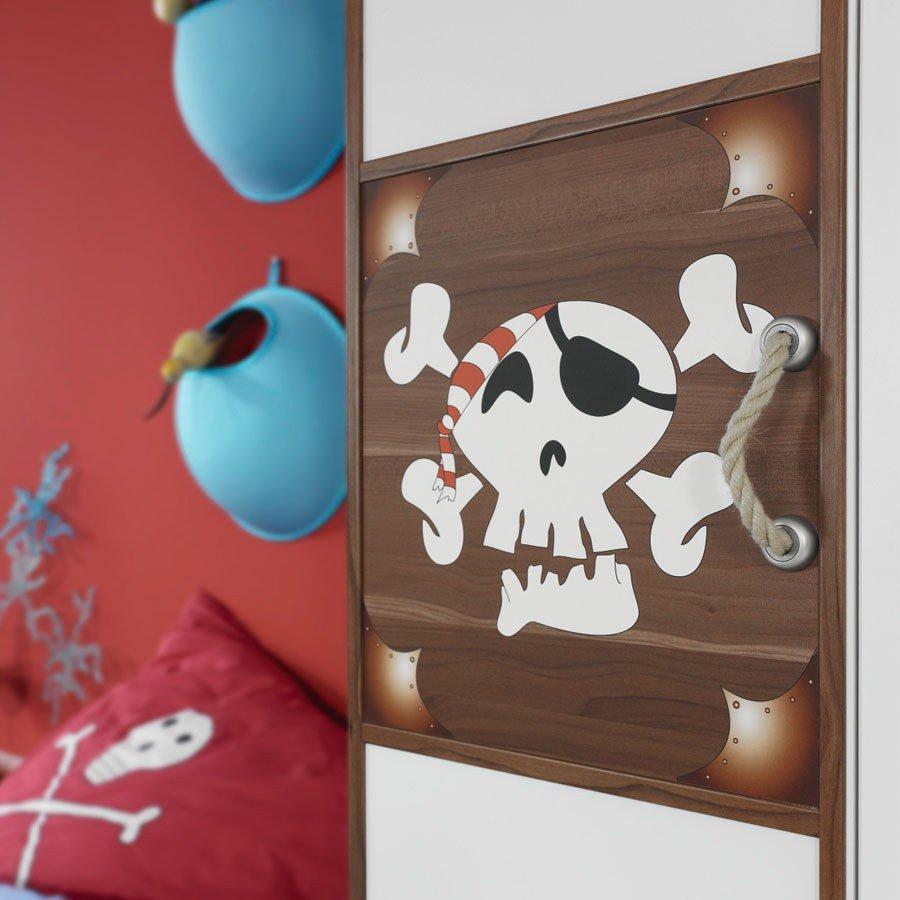 Rauch Drake Kinderzimmer Piratenmotiv | Möbel Letz - Ihr Online-Shop