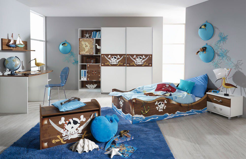 rauch drake kinderzimmer bett bootslook m bel letz ihr online shop. Black Bedroom Furniture Sets. Home Design Ideas