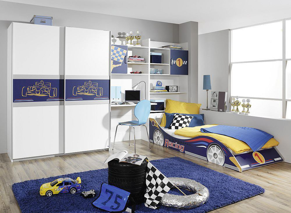 rauch racing kinderzimmer rot m bel letz ihr online shop. Black Bedroom Furniture Sets. Home Design Ideas