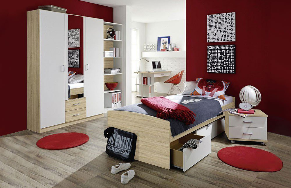 rauch point jugendzimmer wei eiche m bel letz ihr. Black Bedroom Furniture Sets. Home Design Ideas