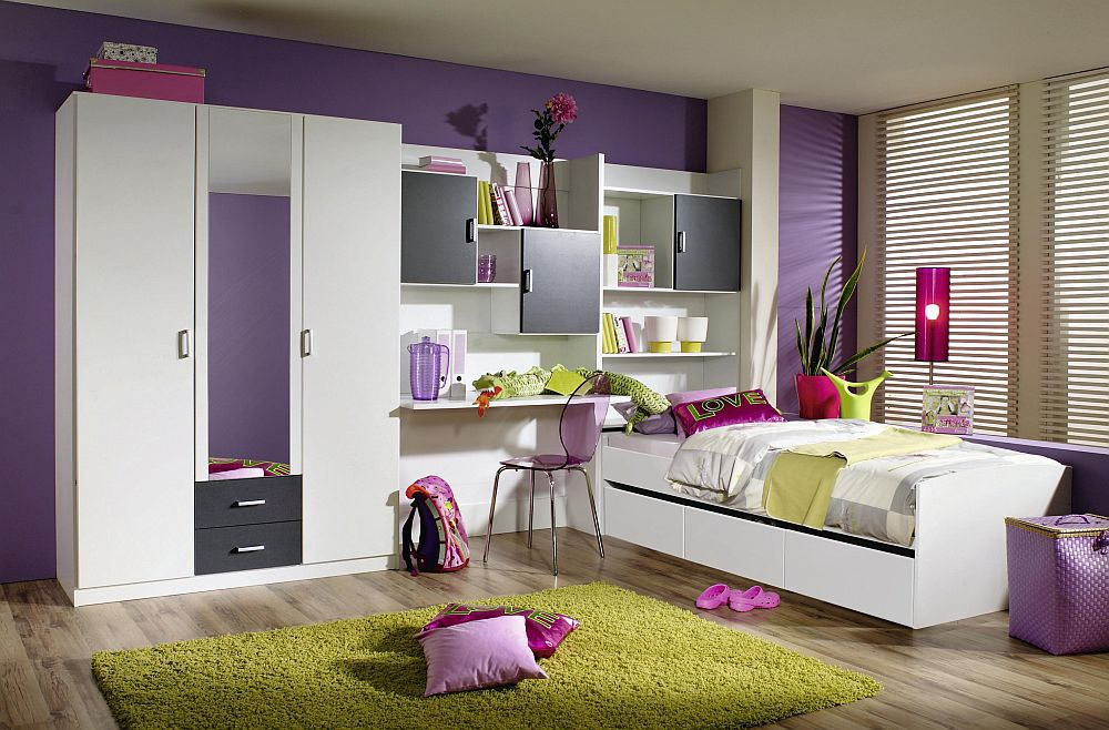 jugendzimmer flow von rauch wei grau m bel letz ihr online shop. Black Bedroom Furniture Sets. Home Design Ideas