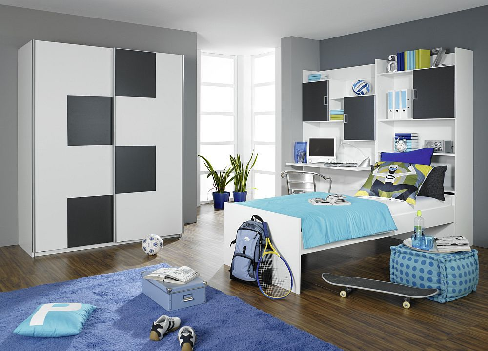 flow von rauch jugendzimmer absetzung in grau online kaufen 39. Black Bedroom Furniture Sets. Home Design Ideas