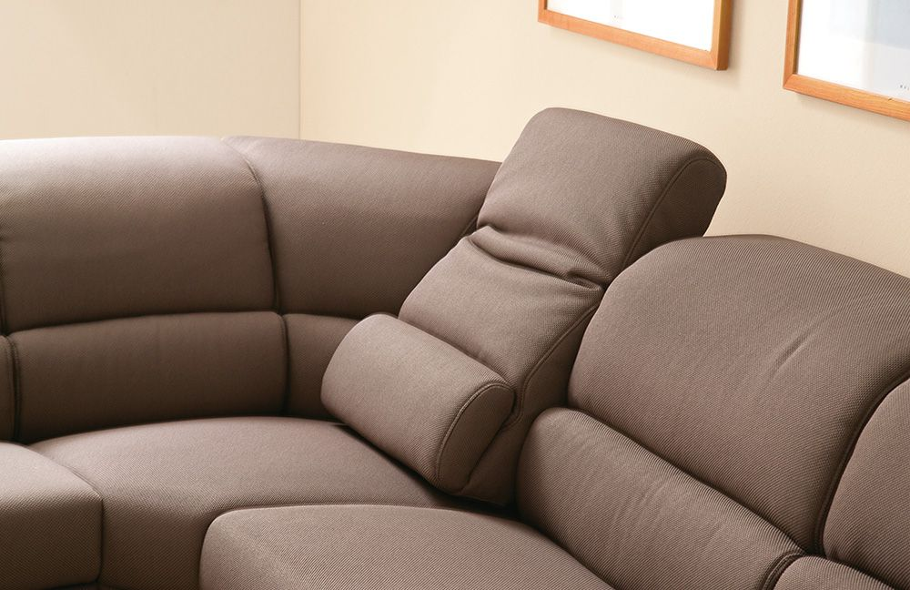casada callas polstergarnitur braun m bel letz ihr online shop. Black Bedroom Furniture Sets. Home Design Ideas