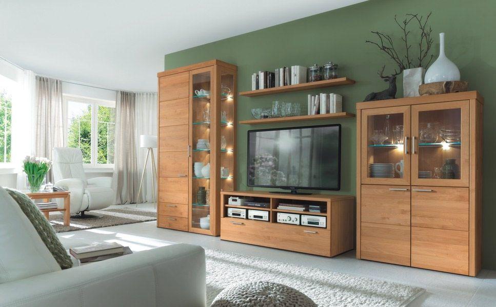 Wohnwand Oleo von Wöstmann Markenmöbel  Möbel Letz  Ihr
