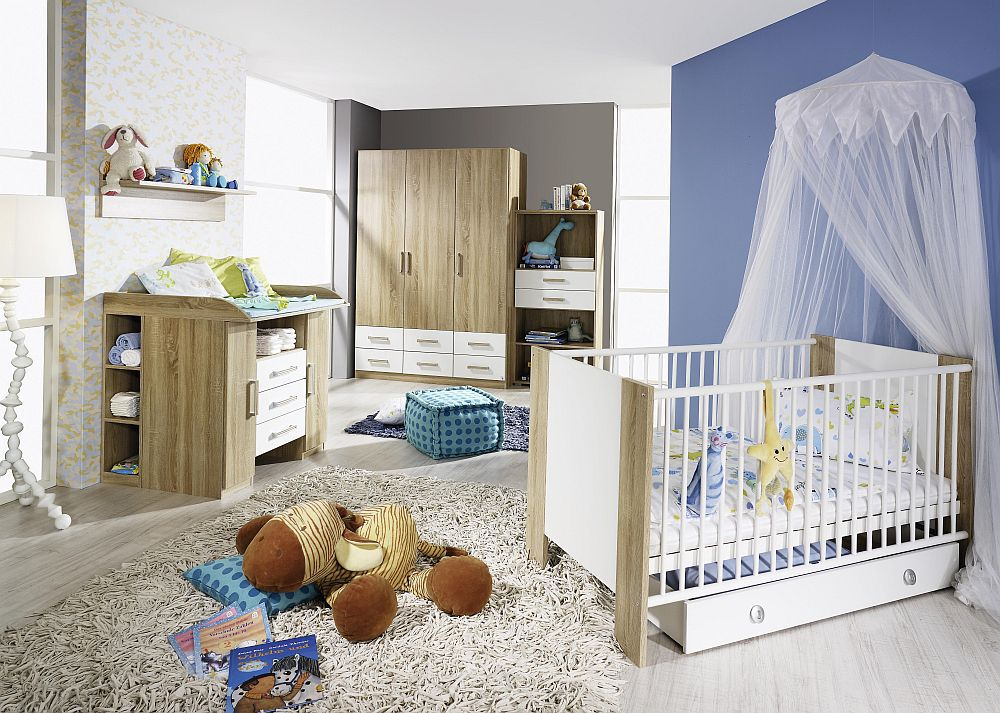 rauch samira babyzimmer eiche nachbildung m bel letz ihr online shop. Black Bedroom Furniture Sets. Home Design Ideas