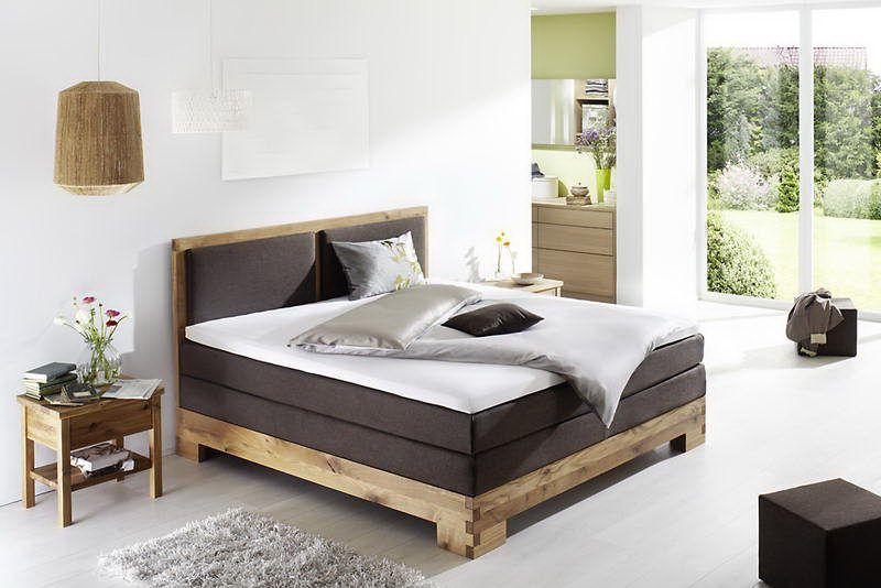 Fey u0026 Co Coventry Massivholz Boxspringbett : Mu00f6bel Letz ...