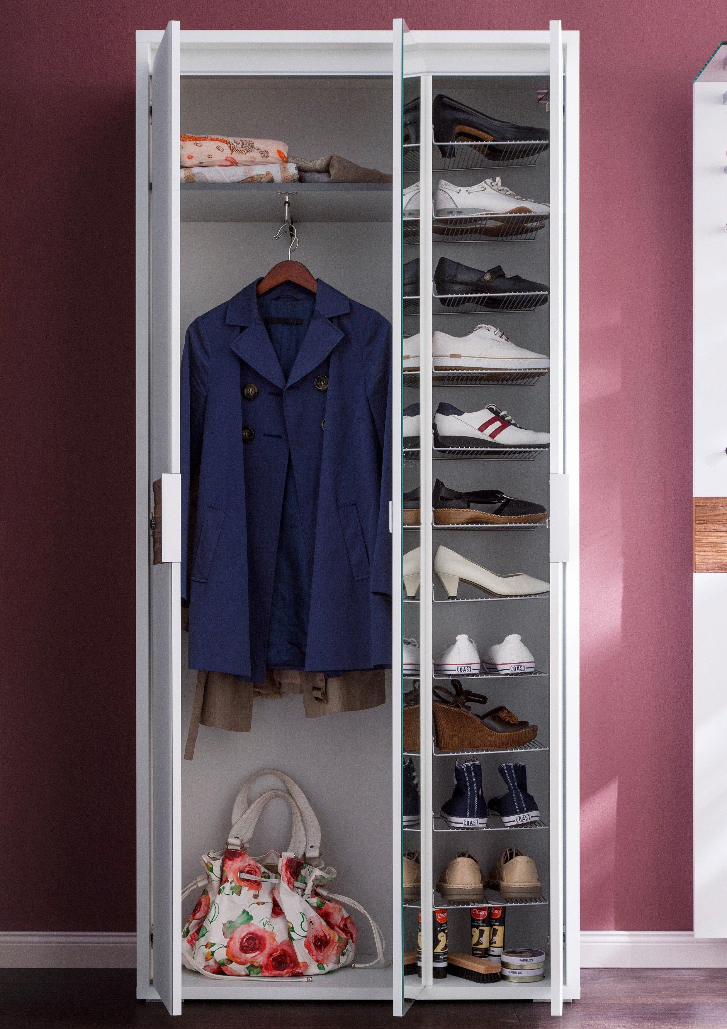wittenbreder garderobe merano wei nussbaum m bel letz. Black Bedroom Furniture Sets. Home Design Ideas