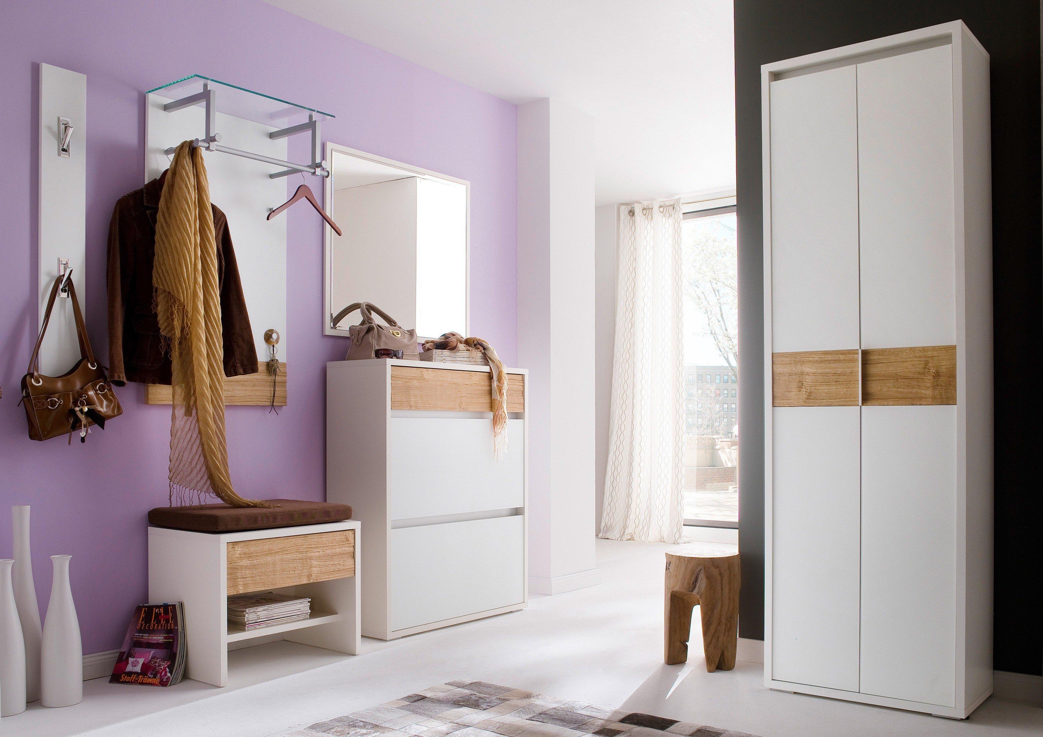 Inspirierend Garderobe Weiß Eiche Sammlung Von Merano Von Wittenbreder - In Weiß/ Spaltholz