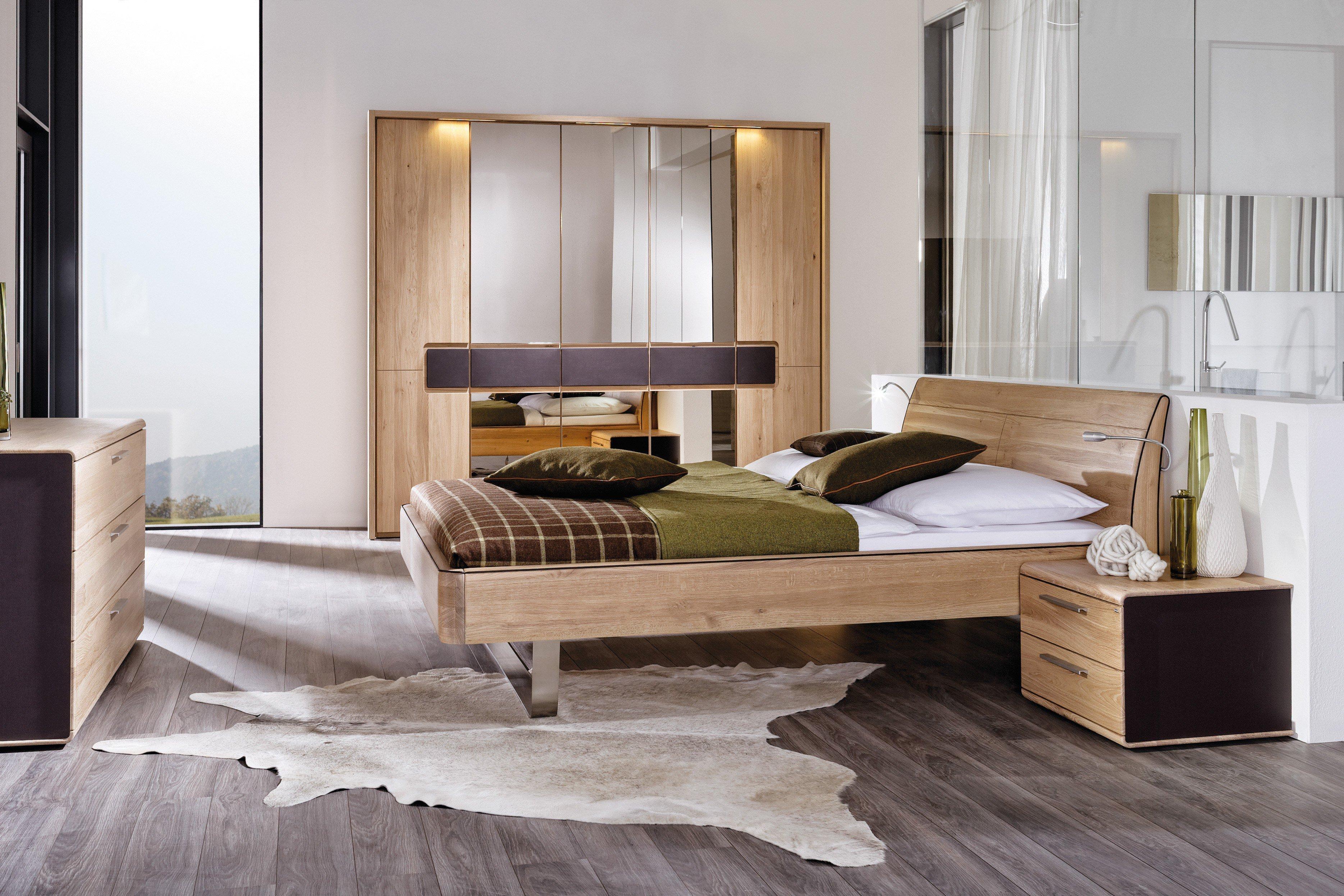 voglauer schlafzimmer v-linea wildeiche | möbel letz - ihr online-shop, Schlafzimmer ideen