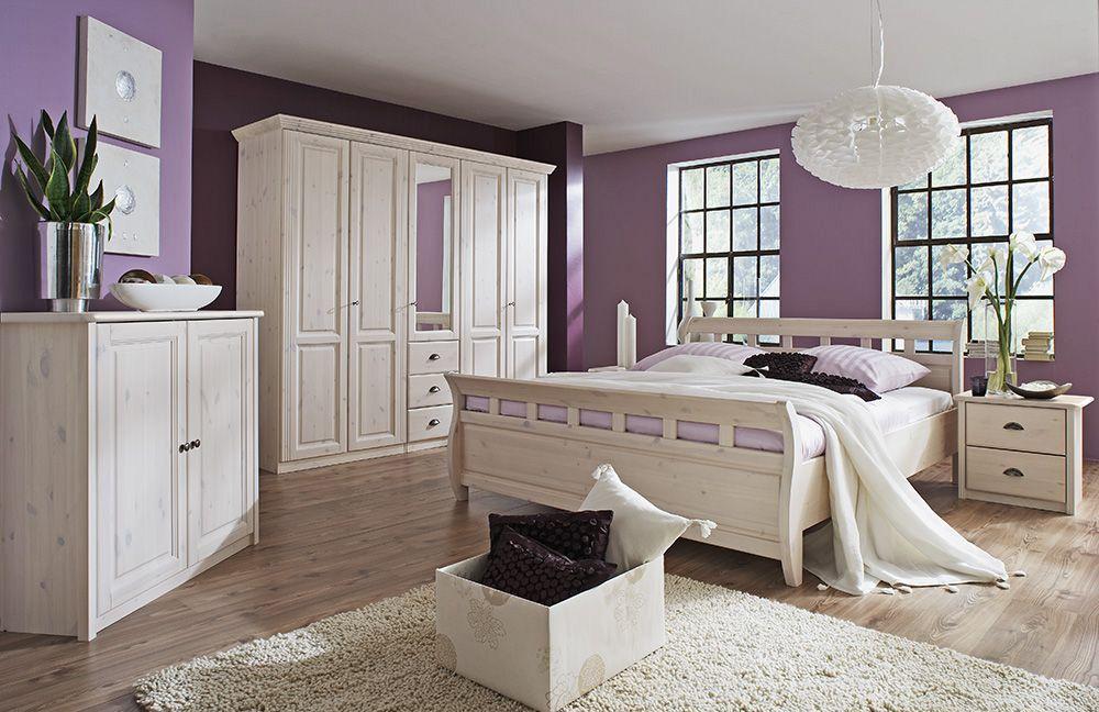 Schlafzimmer Komplett Landhausstil | Trafficdacoit.com ... Schlafzimmer Komplett Weiss