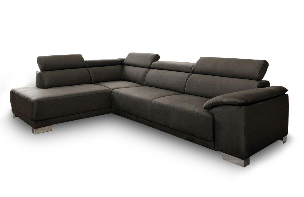 candy amalfi ecksofa in anthrazit m bel letz ihr online shop. Black Bedroom Furniture Sets. Home Design Ideas